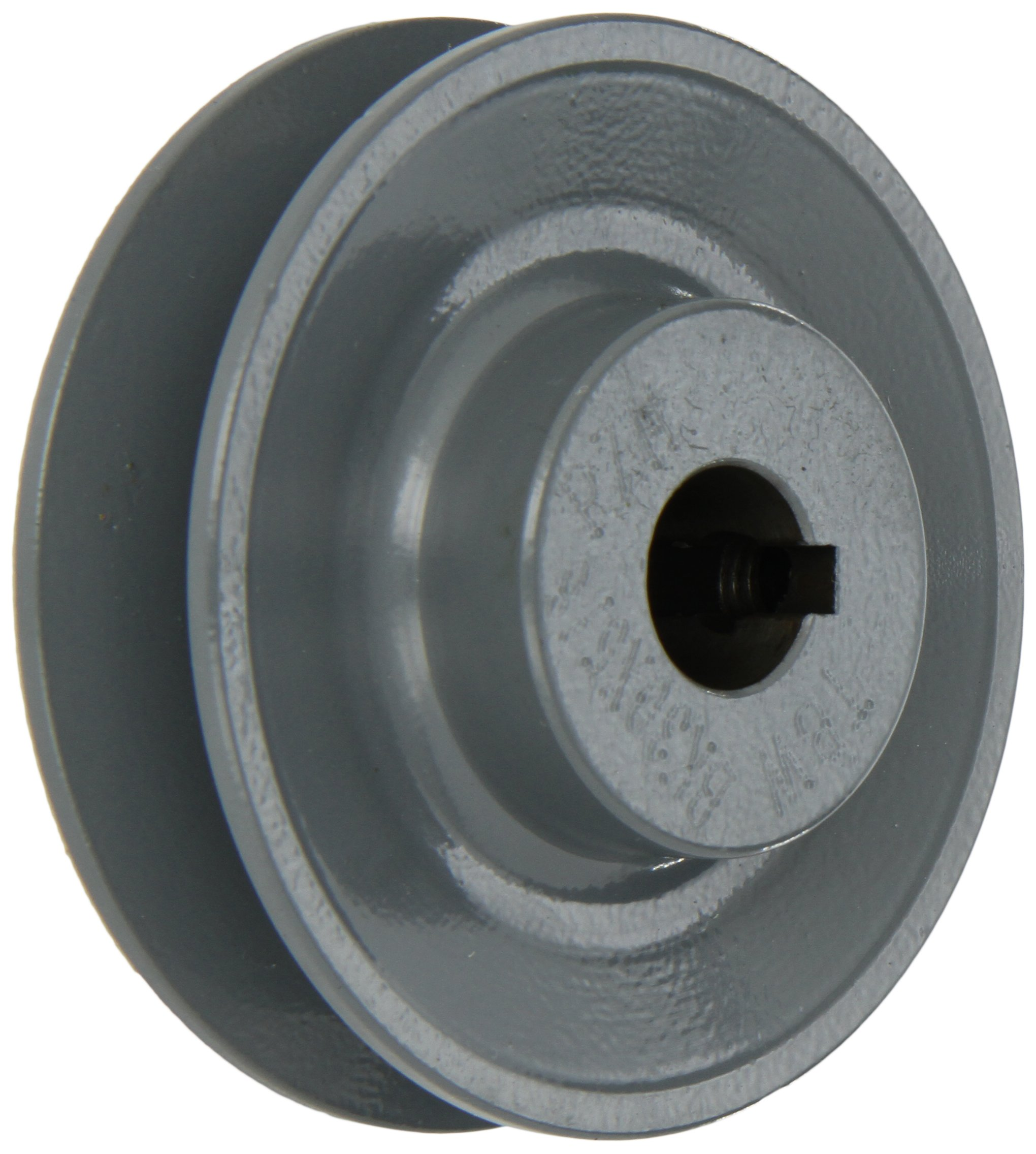 Gates BK30 Light Duty Web Sheaves, BK Type, 3.15'' OD, 1 Groove, 5/8'' Bore by Gates