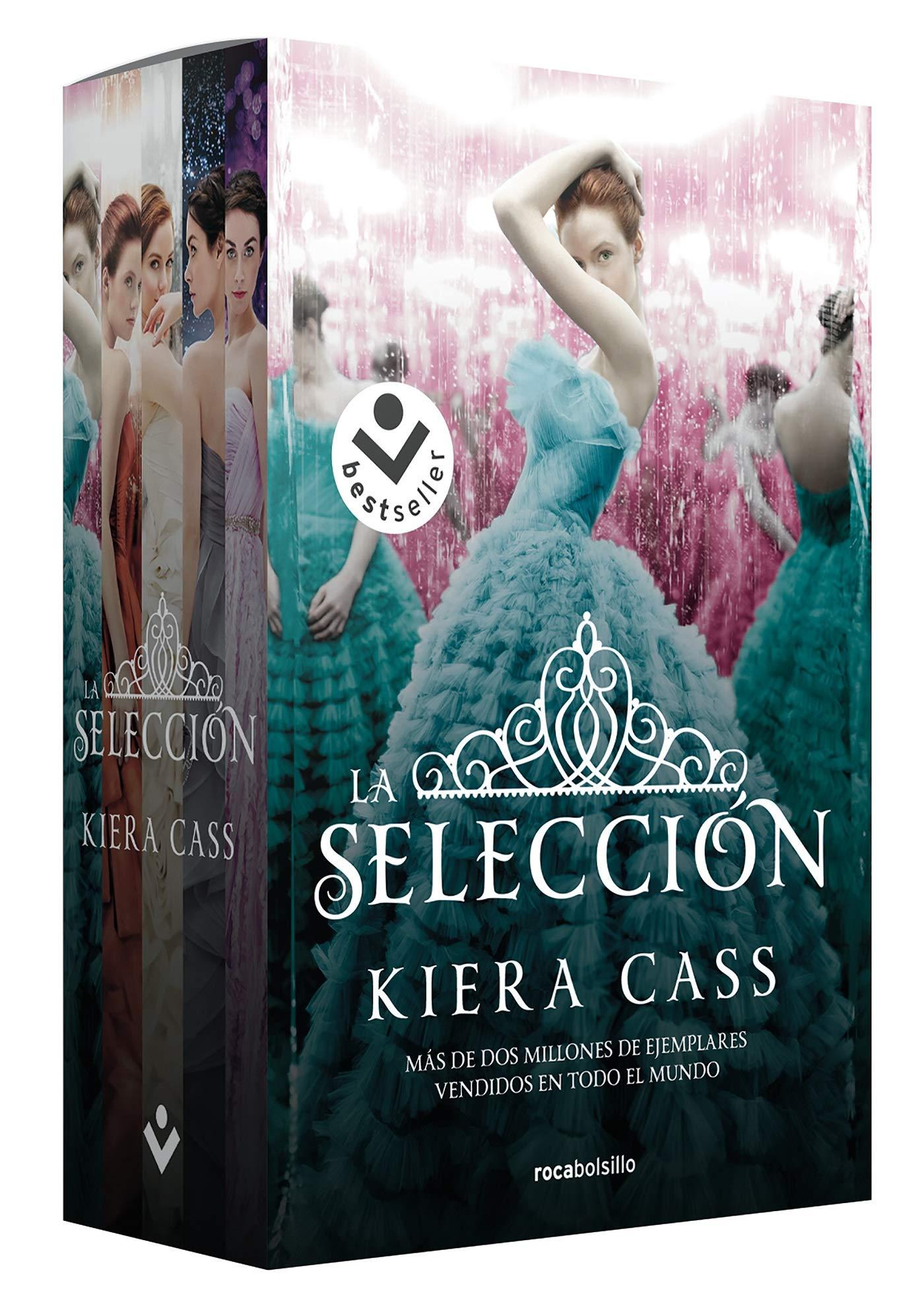 Estuche La Selección (Best seller / Ficción): Amazon.es: Cass, Kiera, Rizzo, Jorge, Angulo Fernández, María: Libros