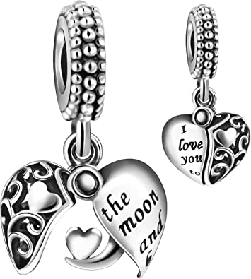 CLIP ON NUMBER CHARM 12 13 14 15 16 17 18 19 sterling silver BIRTHDAY european
