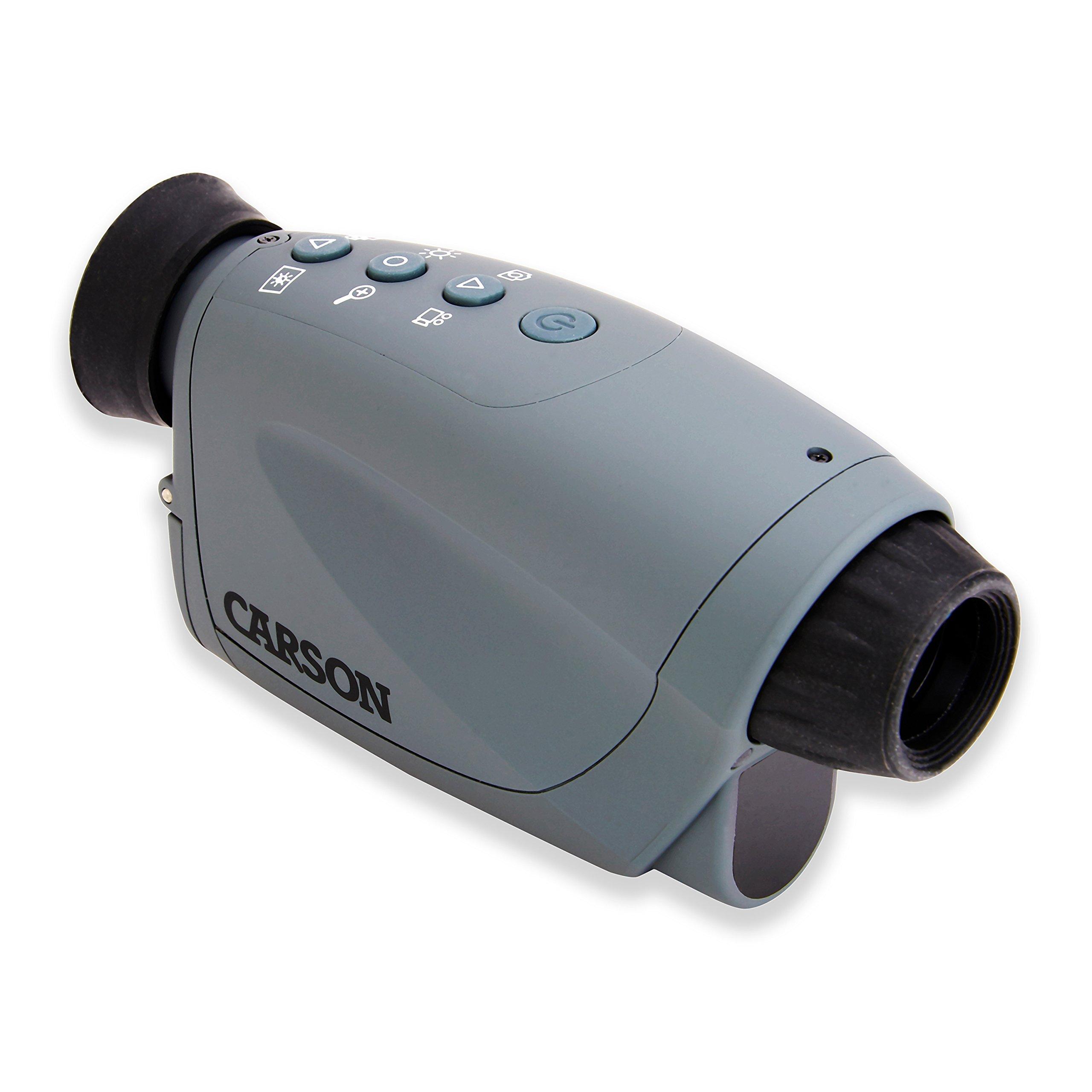 Carson AuraPlus 2x Power Digital Night Vision Camcorder with 8GB MicroSD Card (NV-250) by Carson