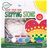 CREATIVE ROOTS Paint Your Own Heart Stepping Stone by Horizon Group USA, Multi (98605)