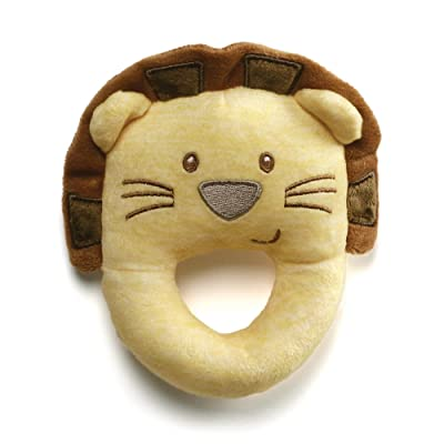 Baby GUND Playful Pals Lion Stuffed Animal Plush Rattle Toy: Toys & Games