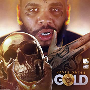 Gold Kevin Gates (CD/Video Mix DVD) Limited Edition
