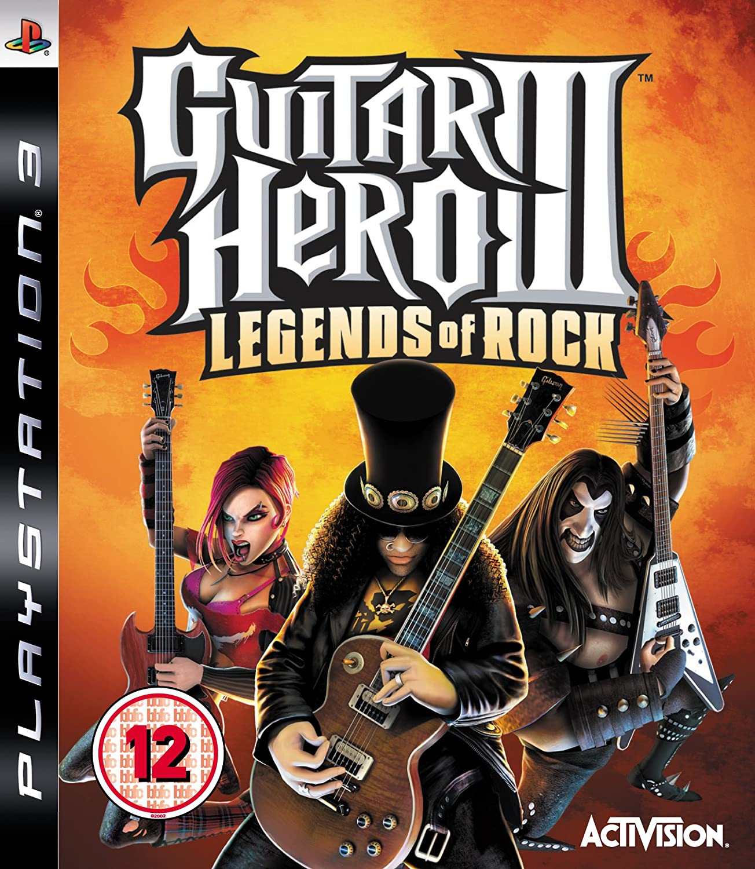 guitar hero iii legends of rock guitar bundle ps3