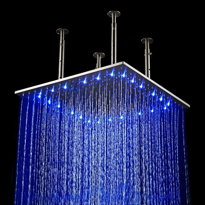 Best Led Shower Head: LightInTheBox Rainfall LED Shower Head