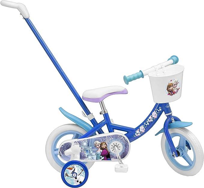 TOIMSA – Frozen para Bicicleta Infantil con bastón de desviación ...