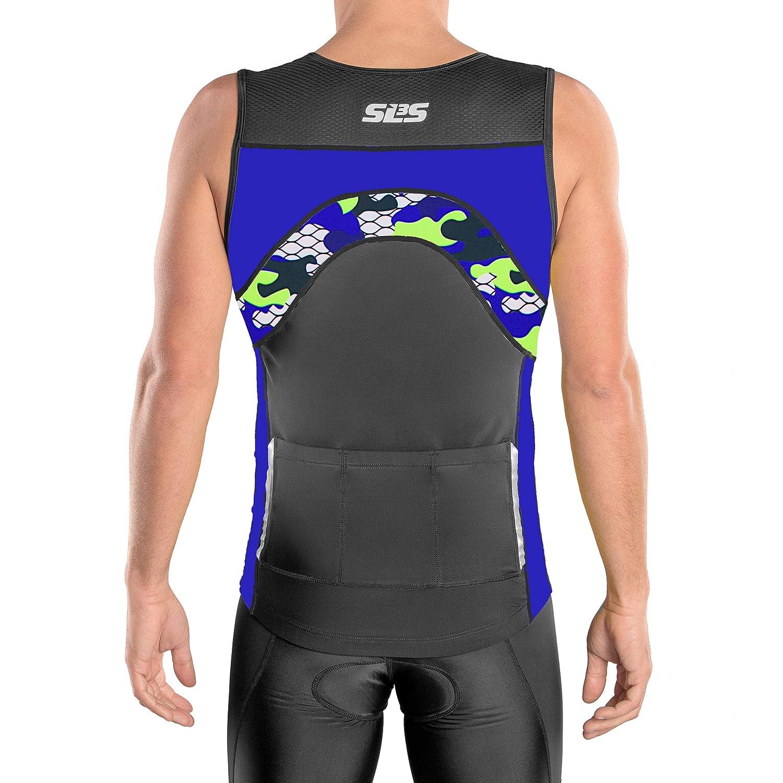 b3cd88d3b Amazon.com : SLS3 Triathlon Top | Tri Top 3 | Tops Men | Jersey | Men's Tri  Top | Tank | Shirt | Sleeveless Bike Jersey Men : Sports & Outdoors
