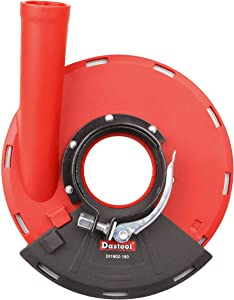 Dastool Dust Shroud for Angle Grinders,Universal 7-Inch Dt1902-180D