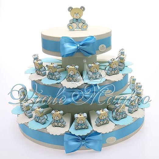 13 opinioni per Torte Bomboniere Battesimo Prima Comunione Nascita Confettata Alzatina