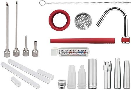 ISI Juego completo de accesorios decoración de, puntas, puntas de ...