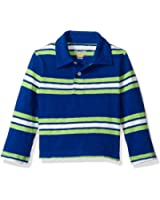 The Children's Place Boys' Long Sleeve Striped Jersey Polo