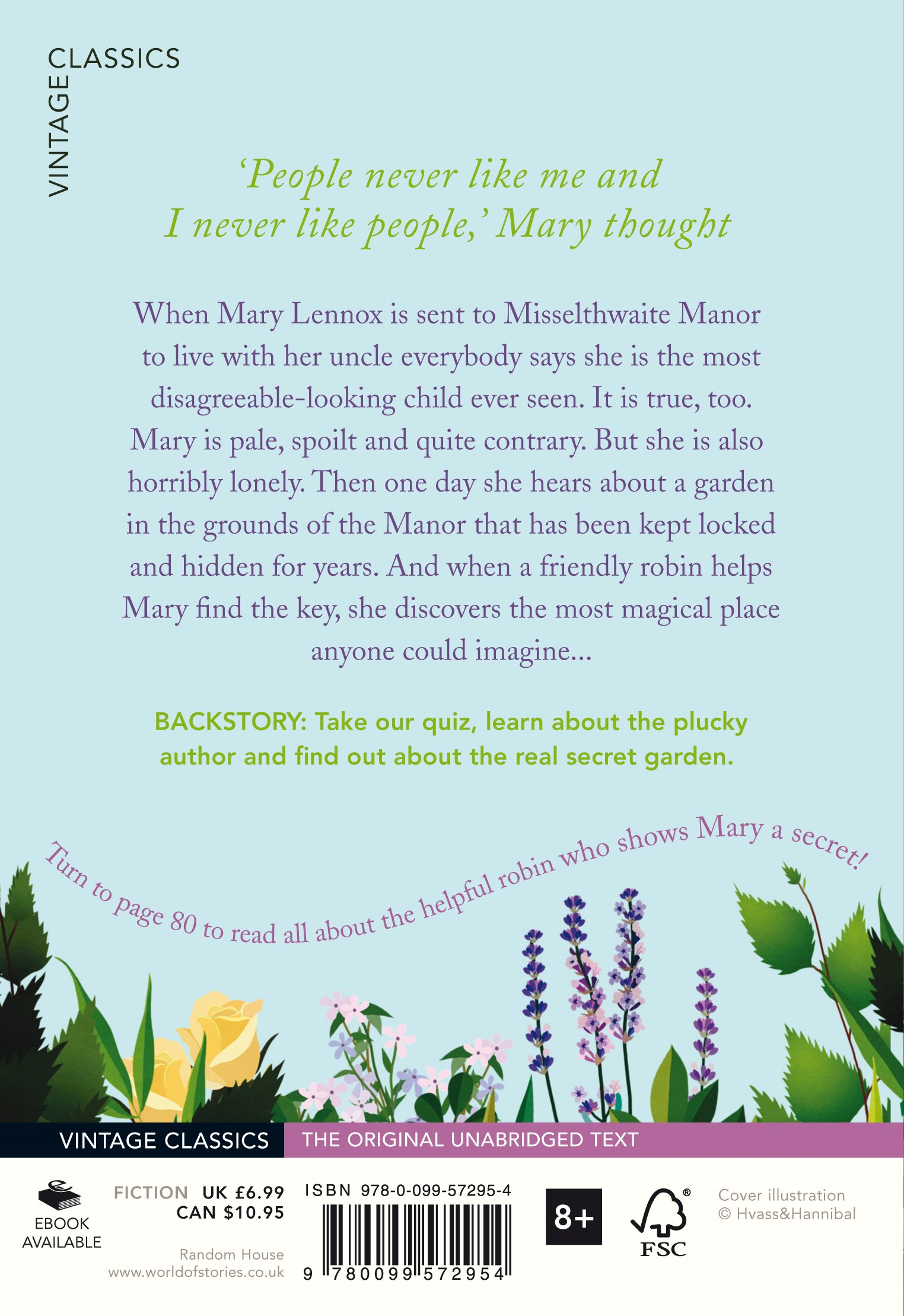 The Secret Garden (Vintage Childrens Classics): Amazon.es: Frances Hodgson Burnett: Libros en idiomas extranjeros