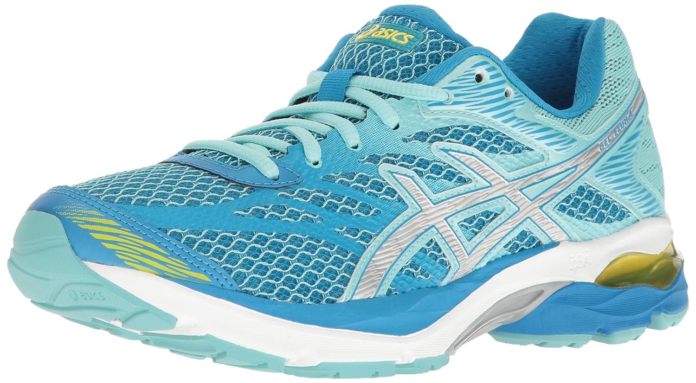 Diva bluee Silver Aqua Splash ASICS Womens Gel-Flux 4 Running shoes