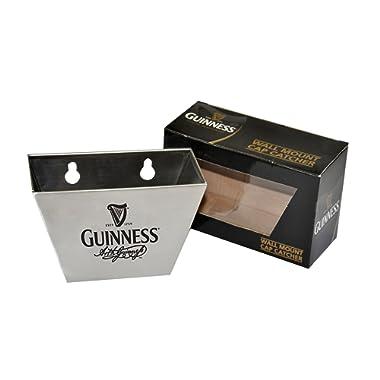 Guinness Wall Mount Bottle Opener and Cap Catcher Set
