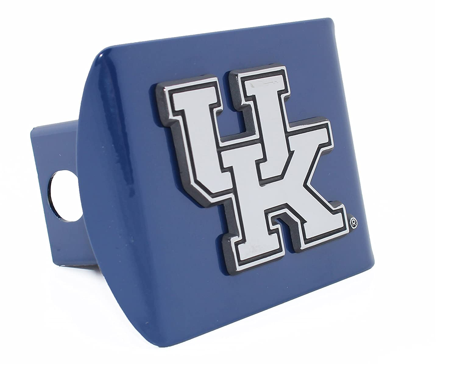 Kentucky Wildcats METAL Royal Blue Hitch Cover AMG