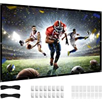 Deals on LUOWAN 84 inch Projector Screen 16:9 HD 4K