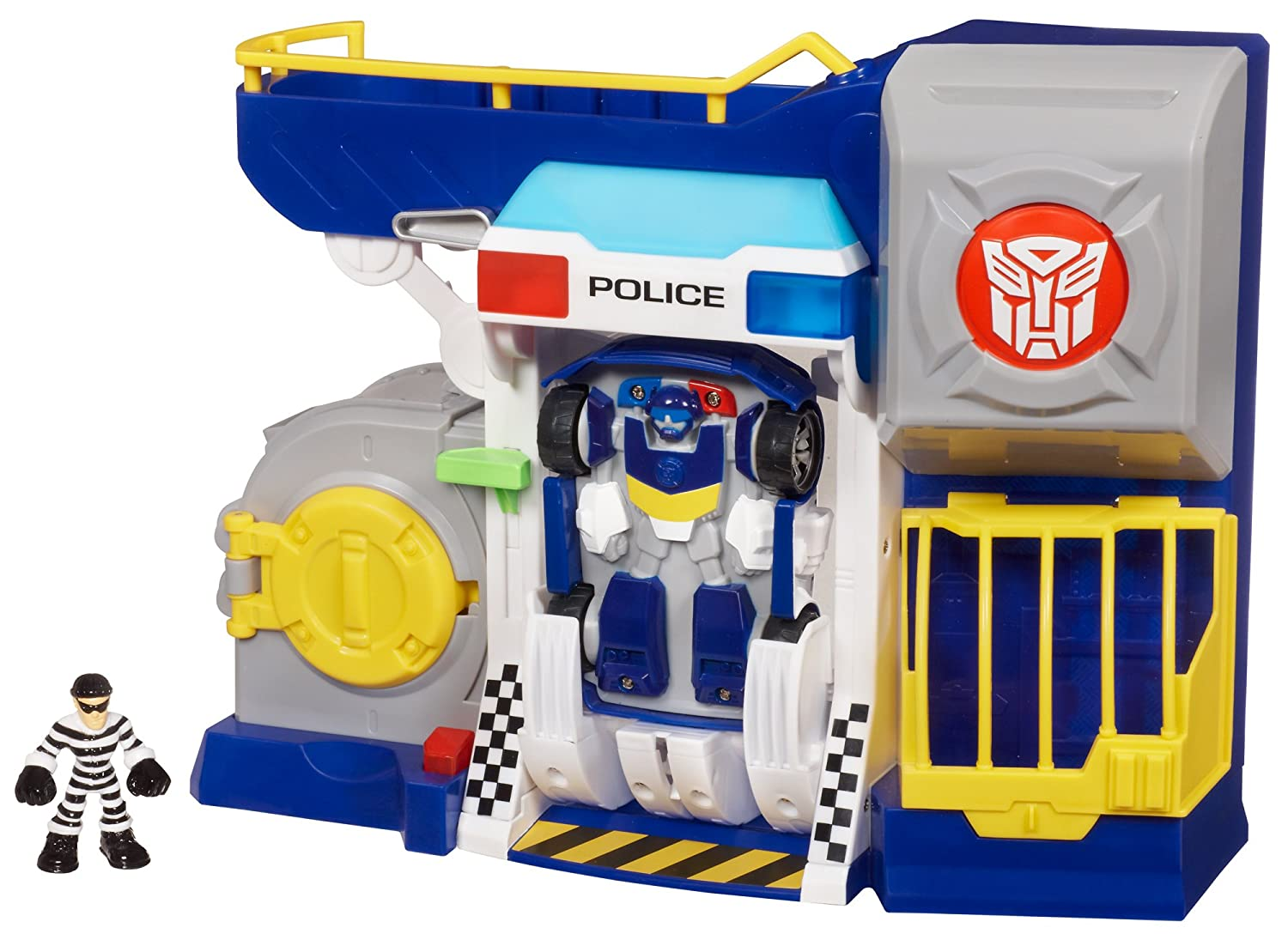 Bots and Robbers Police Headquarters by Transformers
