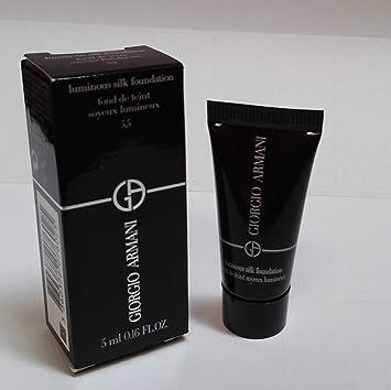 Amazon.com: Giorgio Armani luminoso Seda Foundation 5,5 ...