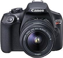 EOS Rebel, Canon, EOS Rebel T6 EF-S 18-55 f/3.5-5.6 III BR, Preta