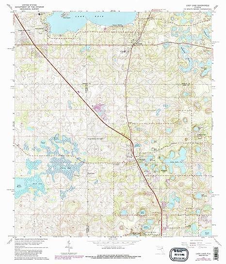 Amazon.com : YellowMaps Lady Lake FL topo map, 1:24000 Scale ...