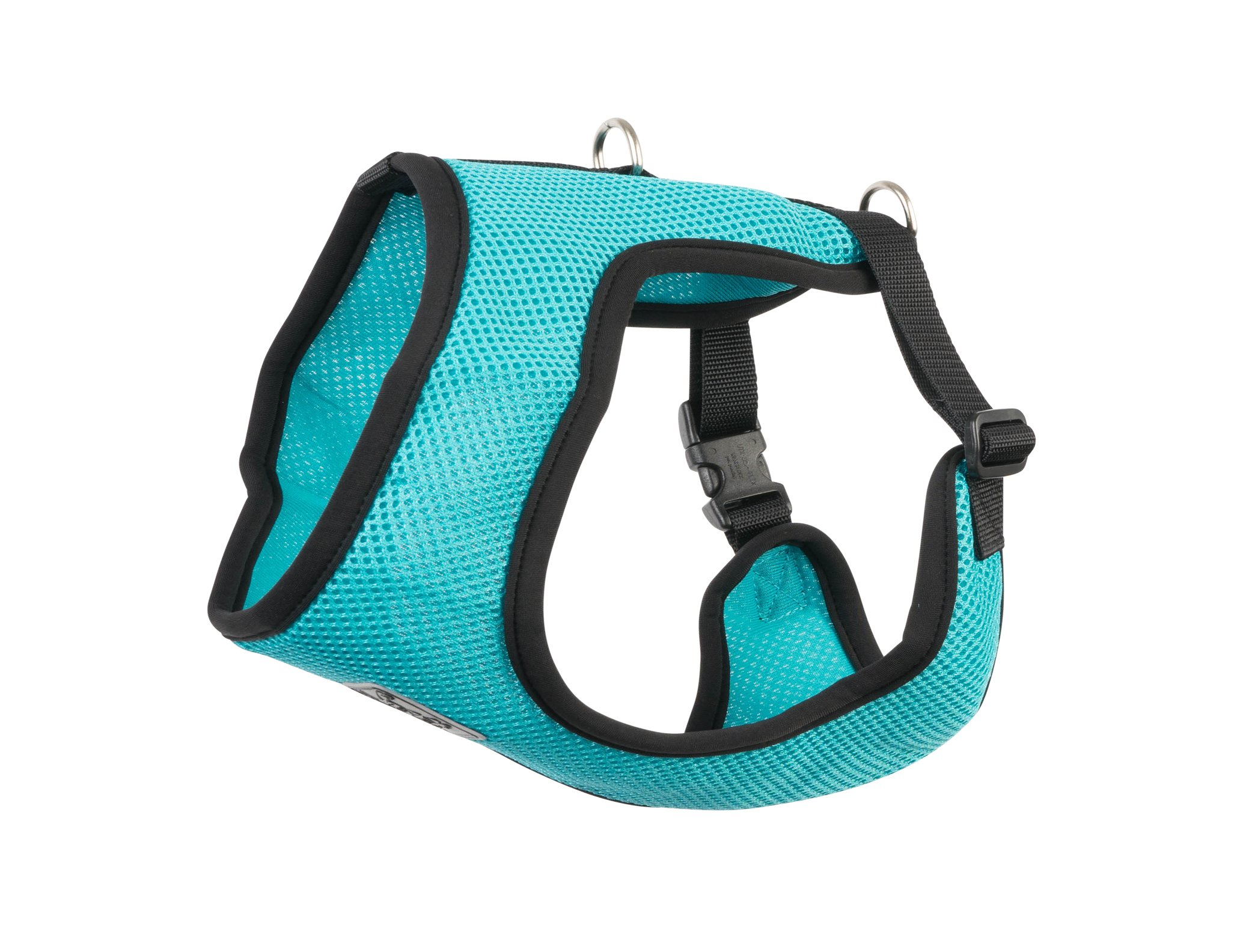 RC Pet Products Cirque Soft Walking Dog Harness, 3X-Small, Teal