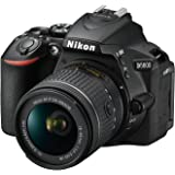 Nikon D5600 Digital SLR Camera with 18-55mm VR Lens, Black