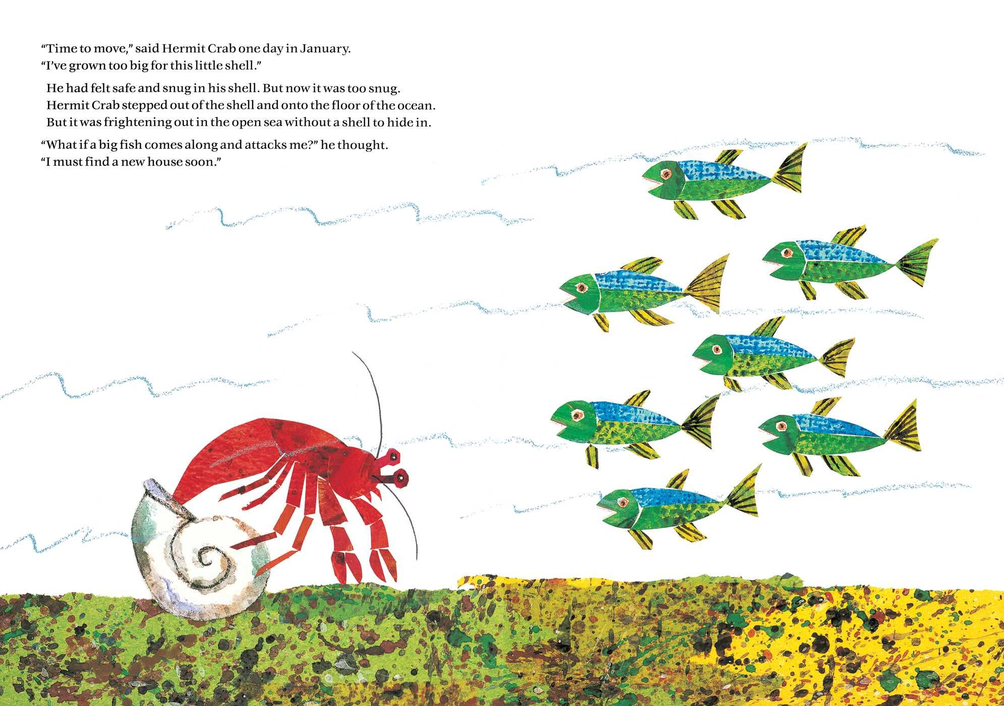 Amazoncom A House for Hermit Crab The World of Eric Carle