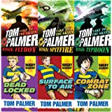 Tom palmer wings and rugby academy series 6 books collection set
