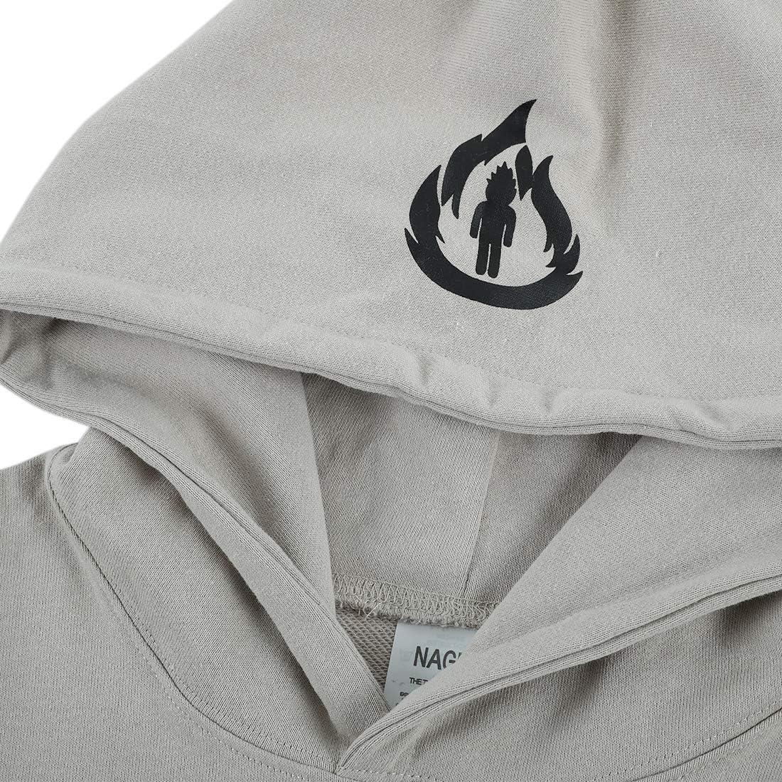 NAGRI Travis Scott Hoodie Sweatshirts Hip Hop Rapper Cotton Black