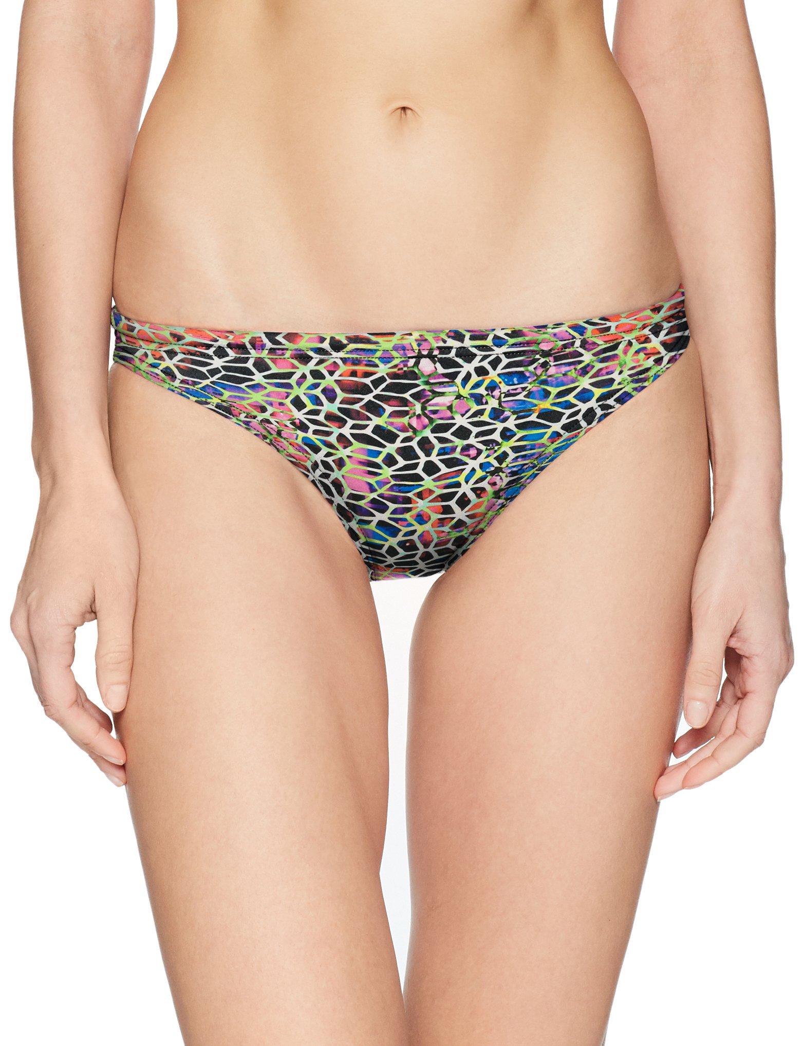 Arena Rulebreaker Real Bikini Bottom, Black Multi-Yellow Star, X-Small by Arena
