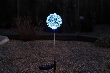 Pk green lampada da giardino a energia solare con palo lampada