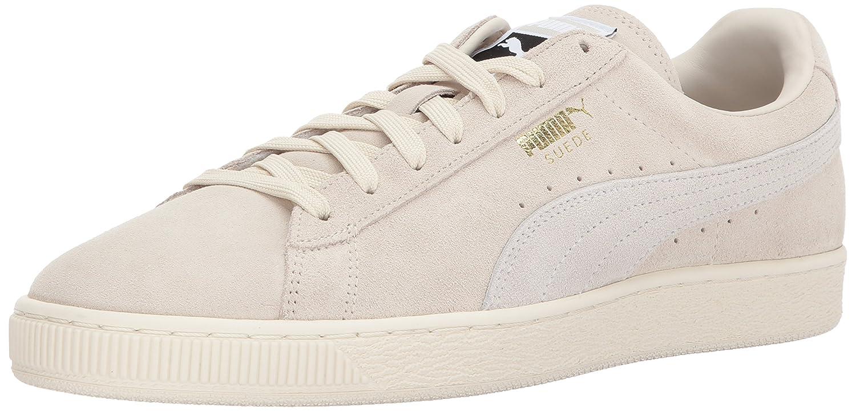 Puma Unisex-Erwachsene Suede Classic + 1 Sneaker, Black-Black, Schuhgrouml;szlig;e  43.5 EU|Beige (Birch-puma White)
