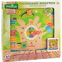Legnoland - Tavola Calendario in Legno, 30.5X30.5