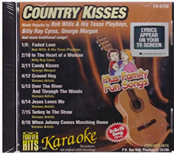 Various Artists - Forever Hits Karaoke: Country Kisses (Plus