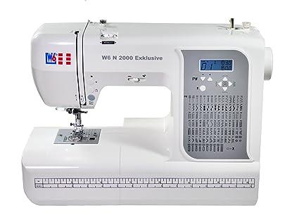 W6 N 2000 exclusiva de ordenador Máquina de coser – Costura, interconectar, para almazuela