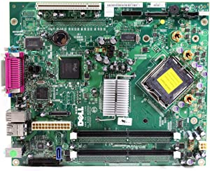 Genuine Dell PY428, PJ478, C8810, PY186, XG309, JD992 Optiplex GX520 Intel 945G Express Socket LGA775 Small Form Factor SFF DDR2 Motherboard Logic Main Board Compatible Part Numbers: PY428, PJ478, C8810, PY186, XG309, JD992