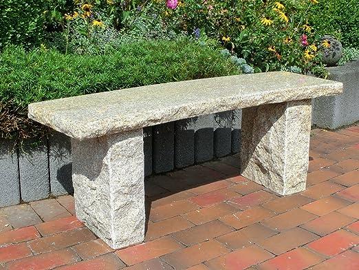 Panchine Da Esterno In Pietra.Stoneproducts Pietra Naturale Panca Da Giardino Panca Di Pietra
