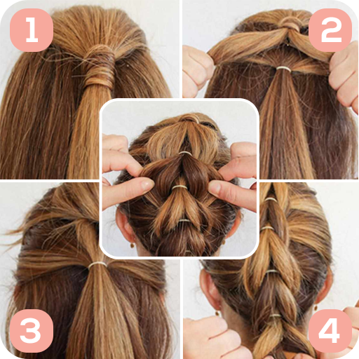Amazon Com Easy Hairstyles Step By Step Appstore For Android