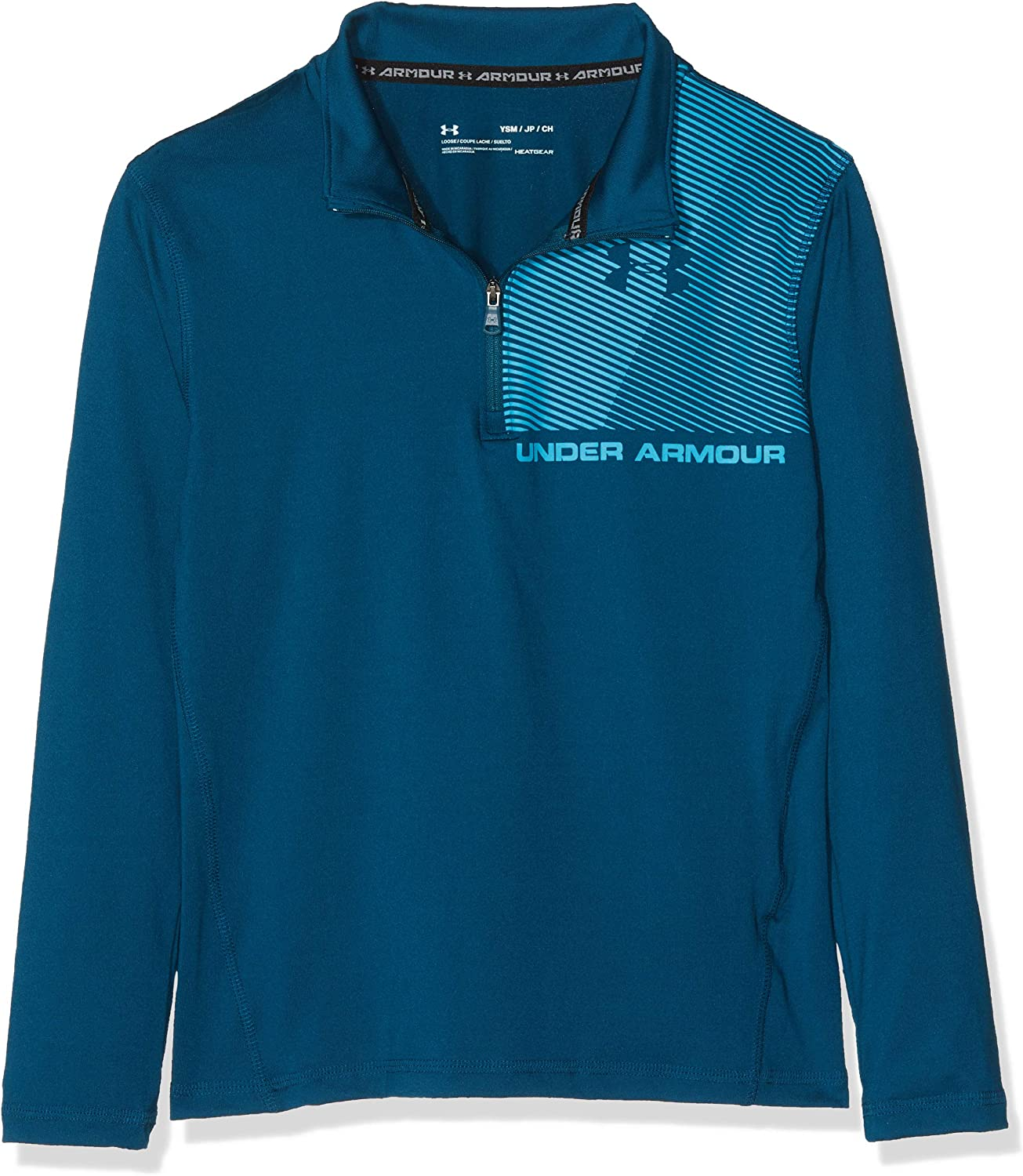 Under Armour Boys Raid 1//4 Zip Long-Sleeve Shirt