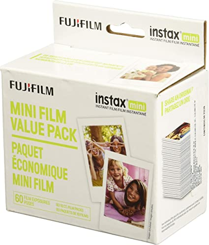 Amazon.com: Fujifilm Instax Mini - Película monocromática ...