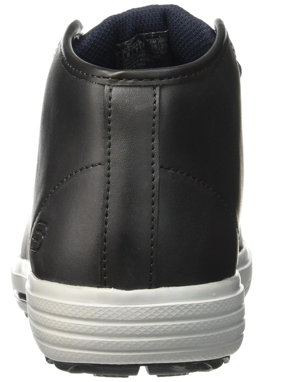 64742, Sneaker Uomo, Nero (Nero (Blk Noir)), 40 EU Skechers