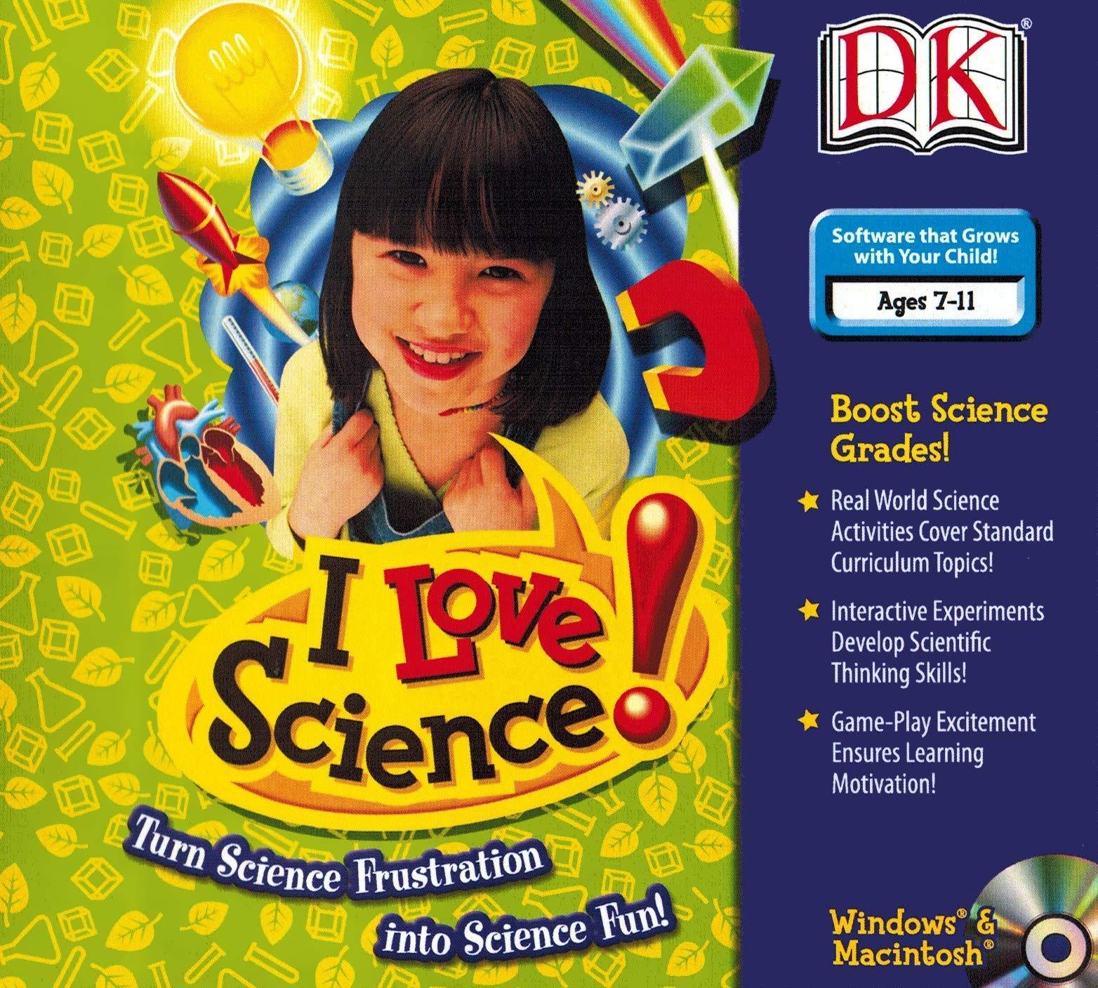 I Love Science by Dorling Kindersley