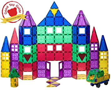 Playmags 118 Piece Set: With Strongest Magnets Guaranteed, Sturdy, Super  Durable With Vivid