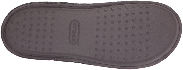 381efcb987 Amazon.com   Crocs Men's and Women's Classic Slipper, Comfortable Slip On  House Shoe with Soft Fuzzy Liner   Mules & Clogs