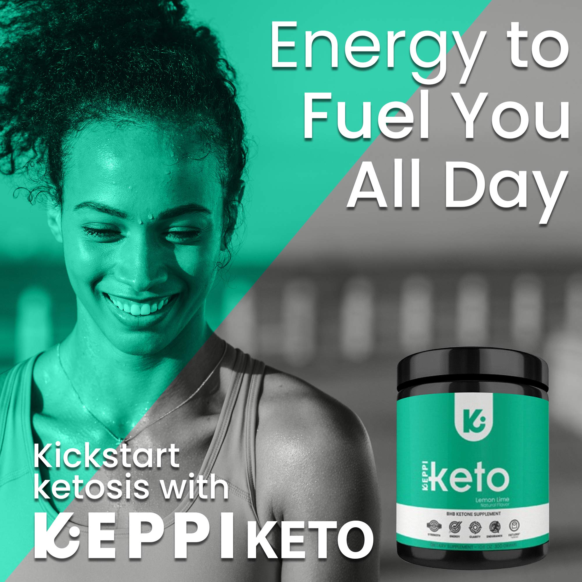 KEPPI Keto Exogenous Ketones Powder Supplement: Patented BHB Salts Formulated to Increase Energy, Burn Fat, Maintain Ketosis and Mental Focus on The Ketogenic Diet by Keppi (Image #4)