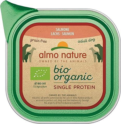 Almo Nature - Comida orgánica para Perros con salmón y ...