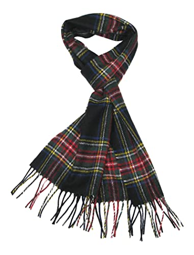 Lovarzi – Bufanda de tartán de lana para hombres y mujeres – de hecho en escocia – pura lana tartán bufandas