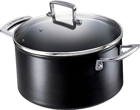 Aluminium Casserole Stew Cooking Pot 5 pcs 24-26-30-36-40cm