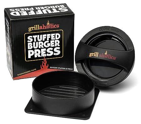 Review Grillaholics Stuffed Burger Press