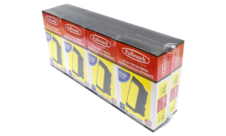 fb12aa6fdc26f Amazon.com: Fullmark N179BK Nylon Printer Ribbon Compatible ...